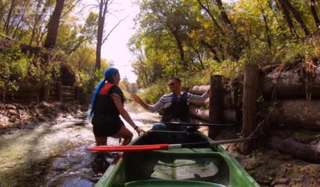 Ljubav je na selu - Olja i Dragan se svađaju u kanuu