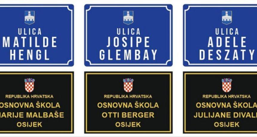 Ulica Hrvatske Republike postaje ulica Adele Deszaty