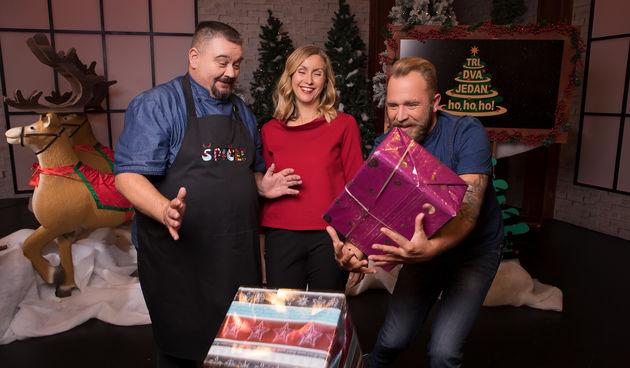 Božić na setu Tri, dva, jedan - ho, ho, ho!