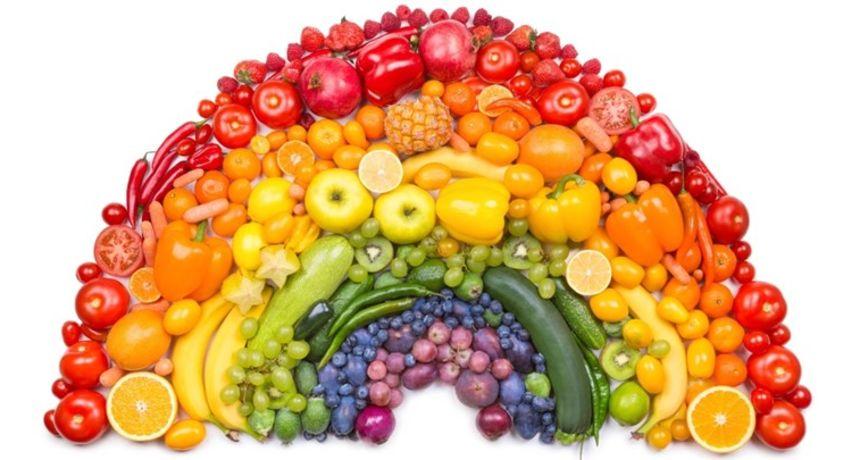 Konzumirajte hranu u duginim bojama za dugačak i zdrav život