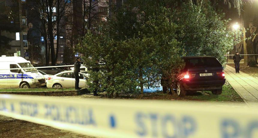 Policijska potjera u Kaštelima, čula se pucnjava: Muškarac razbio službeno vozilo, kod sebe imao drogu, bejzbol palicu...