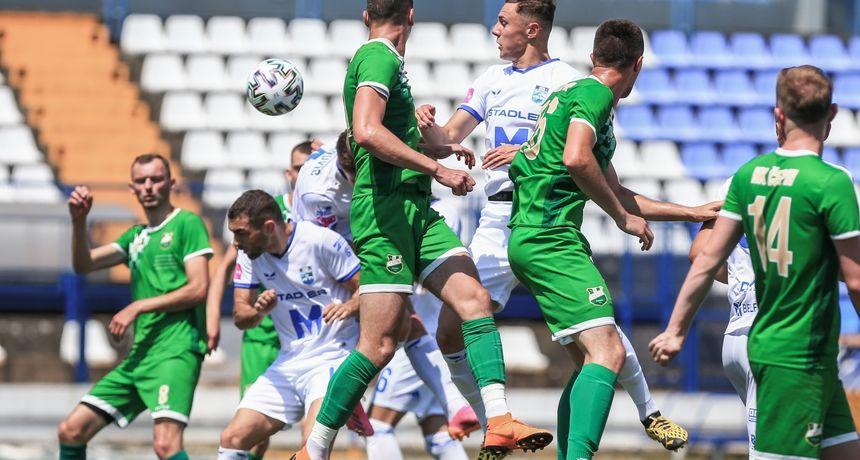 U prvoj pripremnoj utakmici Bijelo-plavi uvjerljivi protiv Čepina: Mance dvostruki strijelac