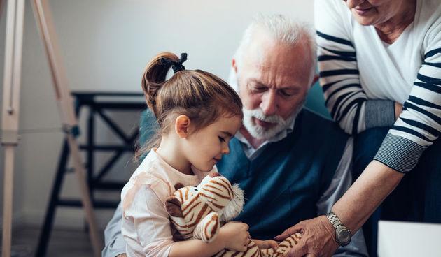 Baka, djed i unuka