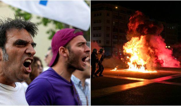 Prosvjed Atena
