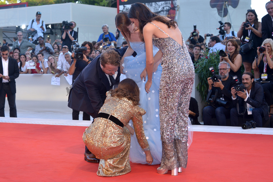 Raffey Cassidy i Natalie Portman
