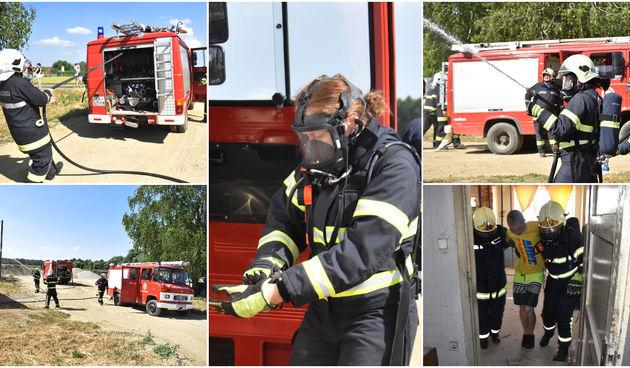 Vatrogasci DVD-a Vratišinec održali vatrogasnu vježbu