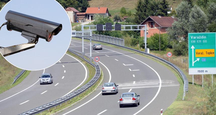 U Varaždinskoj županiji je 14 lokacija kamera za nadzor brzine. Uskoro dolaze i na autoceste?