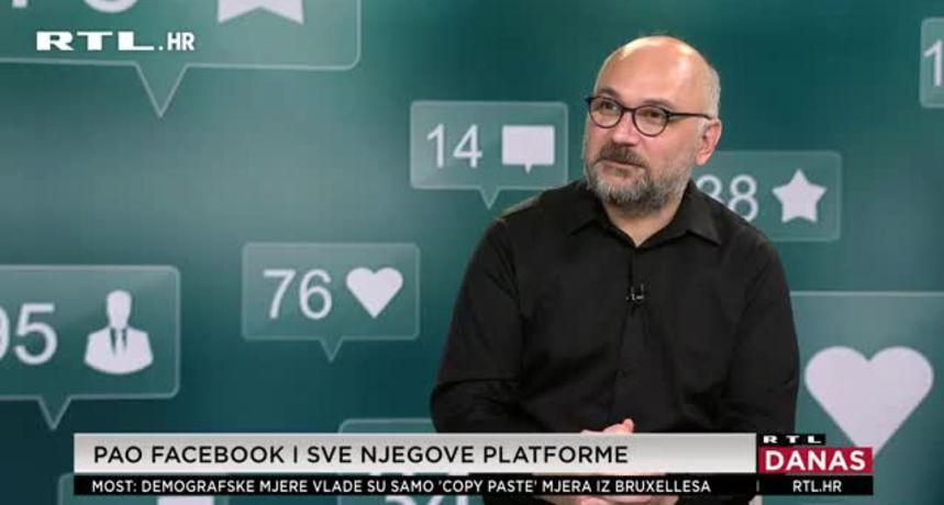 IT stručnjak Marko Rakar o Facebooku: 'Kako su napravili servis mreža, nije veliko iznenađenje da im je kvar bilo teško popravit'
