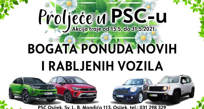 Proljeće u PSC-u - dođite i otkrijte posebnu svibanjsku ponudu