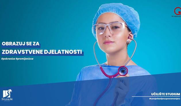 Obrazuj se za zdravstvene djelatnosti u Učilištu Studium