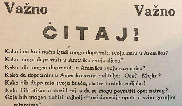 Neobičan oglas iz 1927. godine: Kako mogu dopremiti svoju ženu u Ameriku?