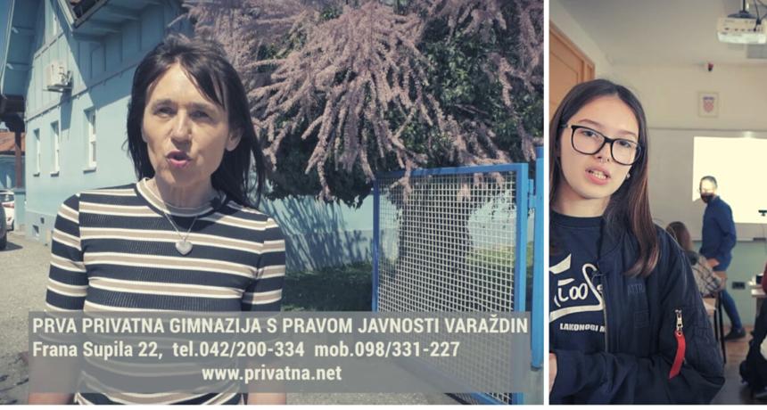 PRVA PRIVATNA GIMNAZIJA u Varaždinu 12. lipnja poziva na Dane otvorenih vrata