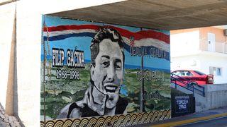 U Primoštenu napravljen povijesni mural 'Obadva, obadva, oba su pala!'