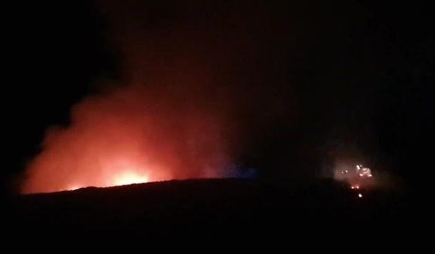 Požar na deponiju Ilovac u Karlovcu - 12.6.2021. (thumbnail)