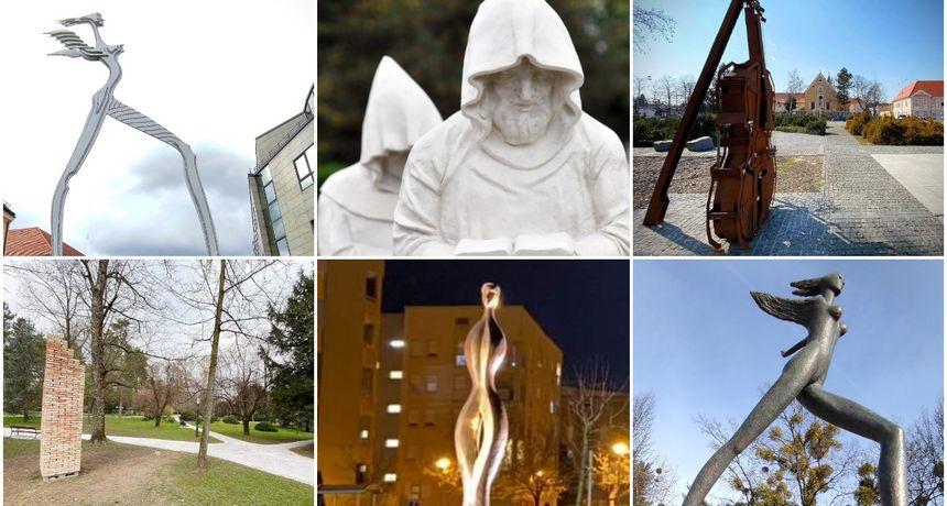 SVE NAŠE SKULPTURE U četiri godine u Varaždinu je postavljeno 6 skulptura