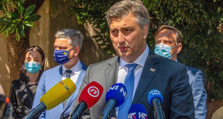 Premijer Plenković u Puli o HDZ-u: 'Napravili smo iskorak, na izbore idemo s ambicijom da budemo bolji'