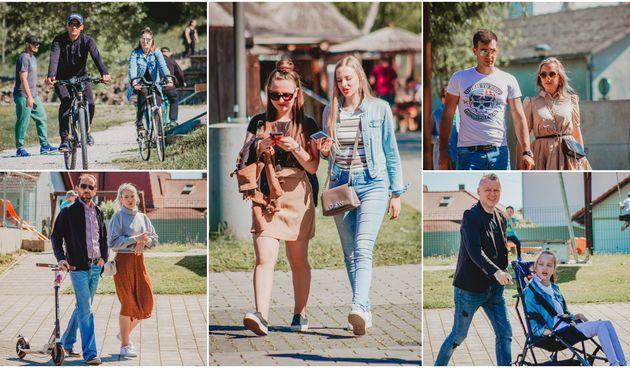 KLIKOM PO MURI Brojni građani uživali u proljetnoj nedjelji u Murskom Središću