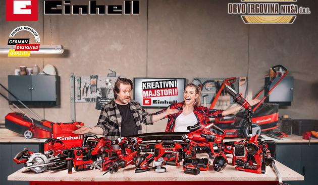 Novo u Drvo trgovini Mikša – Einhell strojevi i alati