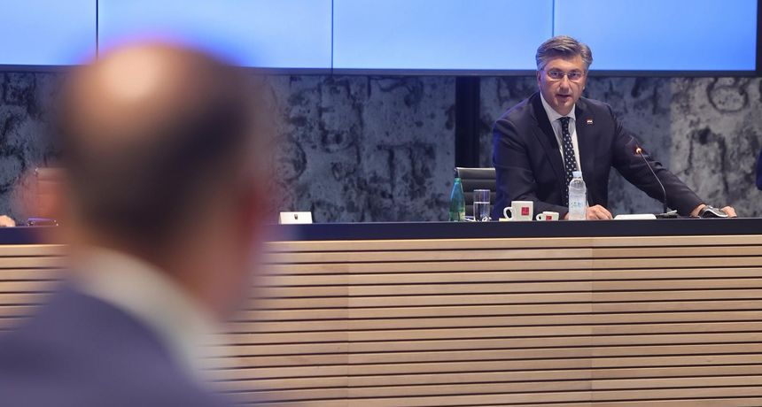 Plenković sa županima i Tomaševićem: 'Imamo puno cjepiva. Razlika između uvezenih i iskorištenih doza je 500.000'