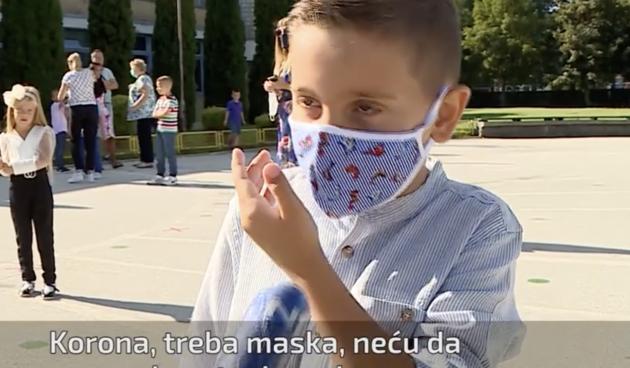 """Prvašić iz Sarajeva reporterki očitao lekciju i postao hit: """"Stavi masku na nos, ne želim se zaraziti"""""""