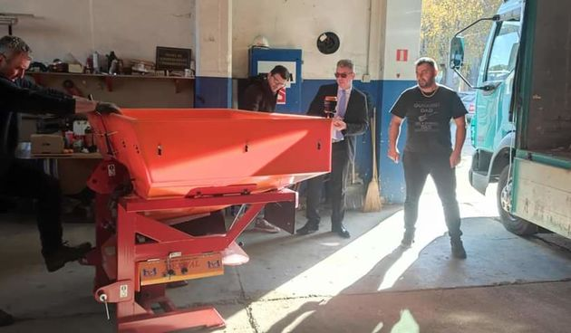Murs Ekom kupio novi stroj za posipavanje prometnica solju