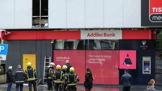U zagrebačkom trgovačkom centru izbio požar