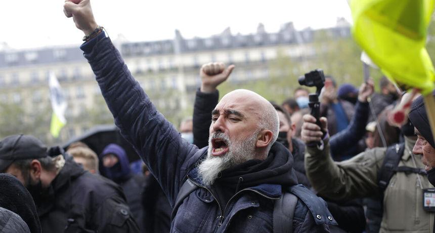 Tradicionalni prvomajski prosvjedi u Francuskoj unatoč restrikcijama: 'Želimo živjeti, a ne preživljavati'