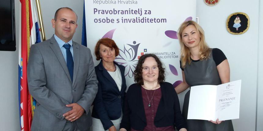 Emisija Potraga osvojila nagradu pravobraniteljice za osobe s invaliditetom