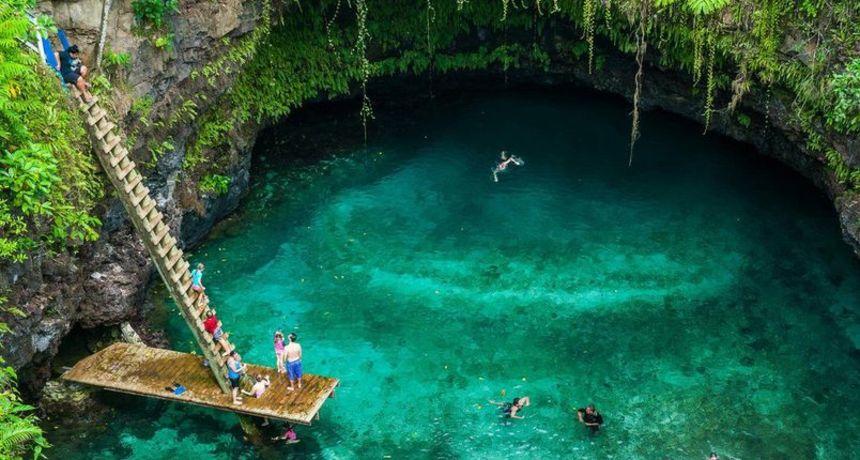Na Upolu se nalazi jedno od najneobičnijih mjesta za kupanje na planetu