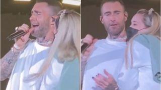 Adam Levine i obožavateljica na koncertu