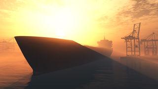 Tanker u luci