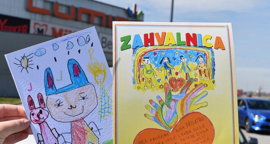 Trgovački centar Lumini uručio donaciju dječjem vrtiću u Petrinji