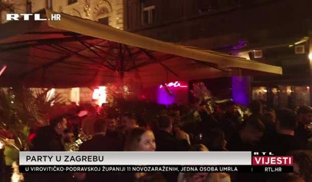 U Zagrebu se sinoć partijalo kao da korona ne postoji: Vlasnici kafiću tvrde da glazba nije njihova (thumbnail)