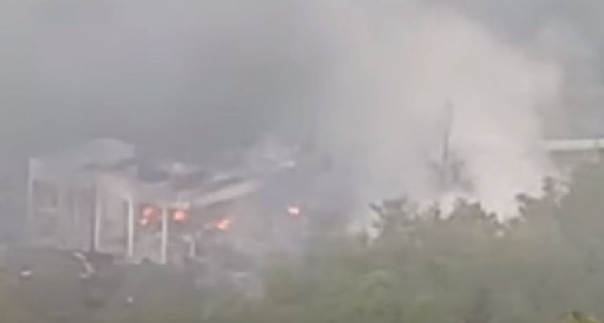 Ponovni požar i detonacije u tvornici streljiva u Srbiji: Vidio se gust dim, još se ne zna uzrok