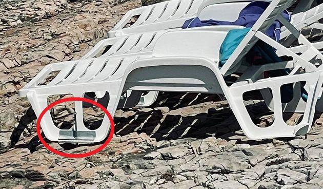 Ležaljka na Braču, devastacija obale