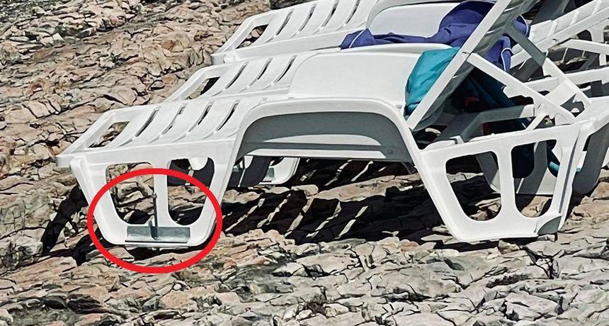 Uništavanje obale na Braču: Izbušili su stijene i u njih ušarafili ležaljke - i to na području budućeg geoparka!