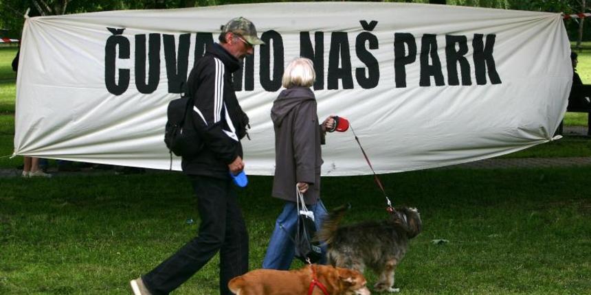Stanovnici Savice prosvjedovali protiv gradnje crkve u parku