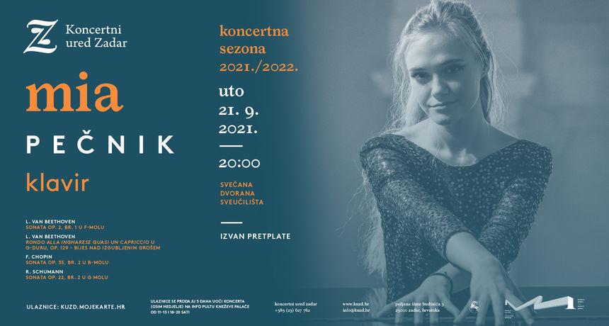 Proglašena je najboljom mladom hrvatskom glazbenicom 2020., nastupala u Carnegie Hallu, a tek joj je 21 godina