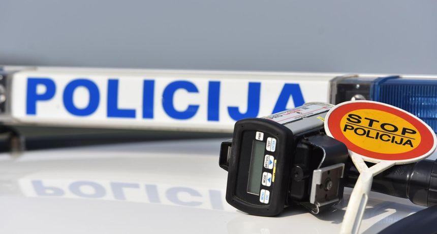 Rezultati policijskog 'Speed marathona': 156 vozača u OBŽ vozilo brže od dozvoljenog