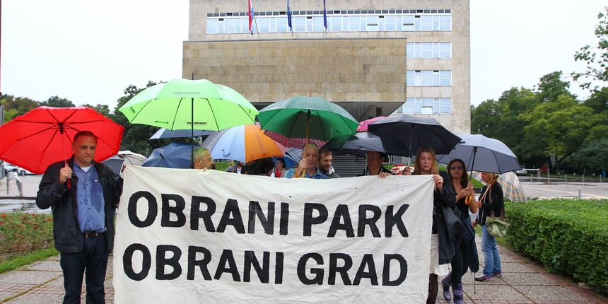 Inicijativa 'Čuvajmo naš park' u subotu sprema veliki prosvjed protiv gradnje crkve u parku na Savici