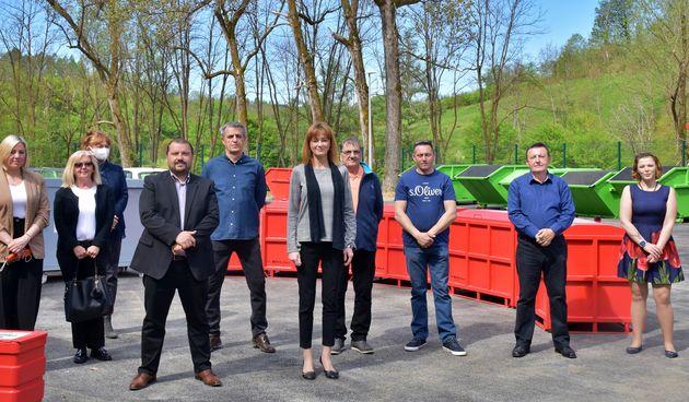 Općini Generalski Stol uporabna dozvola za reciklažno dvorište, županica Furdek Hajdin: Možemo biti zadovoljni s uspostavljenom mrežom na području županije