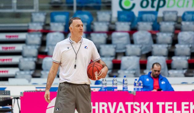 Trening košarkaša KK Zadar