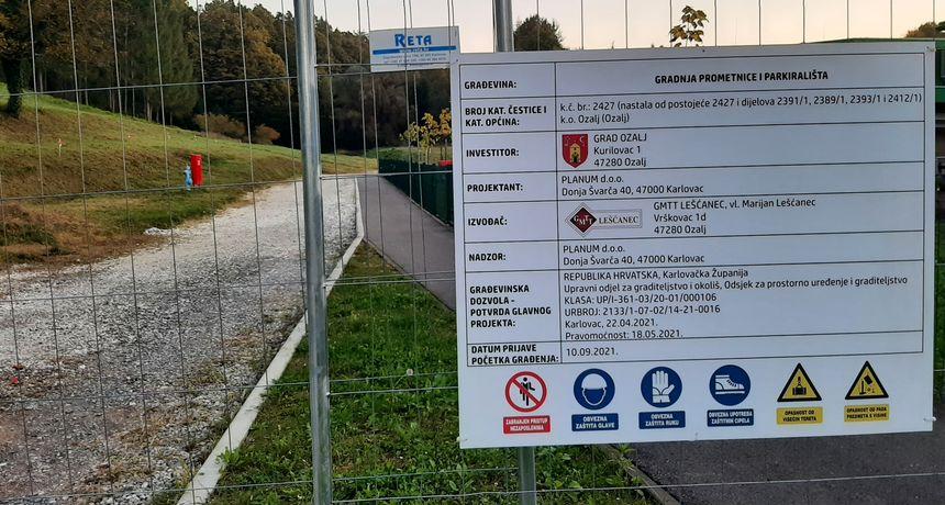 Poskupljenja u građevinarstvu udar su i na lokalne proračune - stotinjak metara ceste i 30 parkirališnih mjesta Grad Ozalj platit će 904 tisuće kuna?