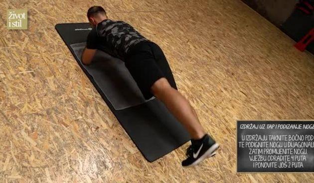 Trener Vedran Spevan pokazao nam je najbolje vježbe za trup i super oblikovane trbušne mišiće (thumbnail)
