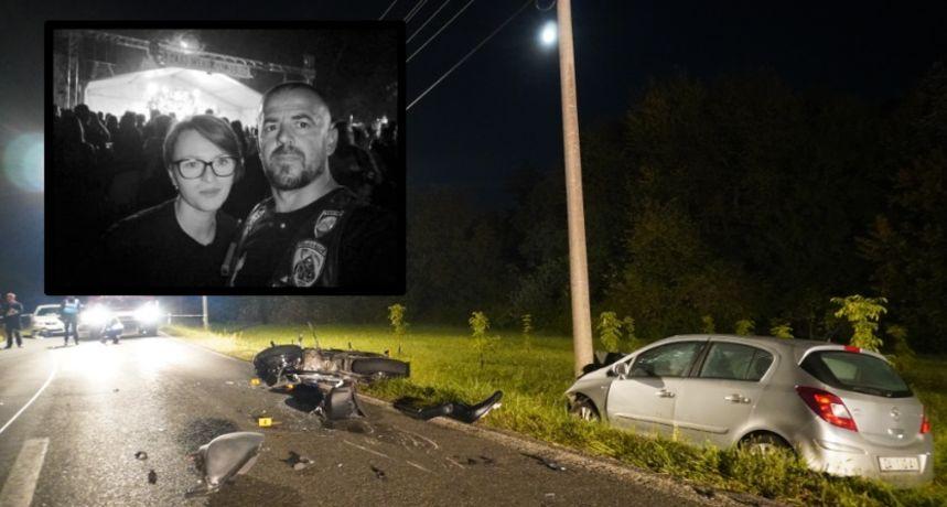 Prijatelji se opraštaju od bračnog para koji je poginuo nakon što su udarili u srnu: 'Lake vam nebeske ceste'