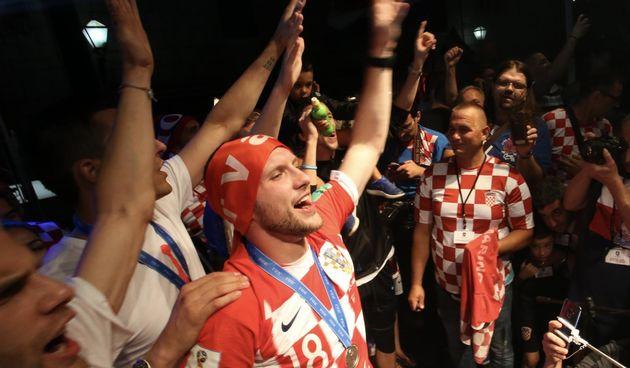 Nakon Splita, hrvatski reprezentativci otišli na doček u Imotski