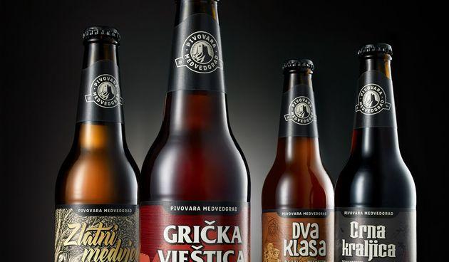 Pivovara Medvedgrad dostavlja svježe i hladno pivo na tvoj prag