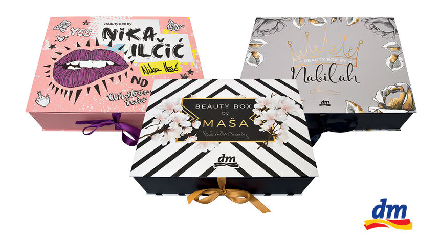 Samo u dm-u: Beauty Box by Maša, Nika i Nabilah