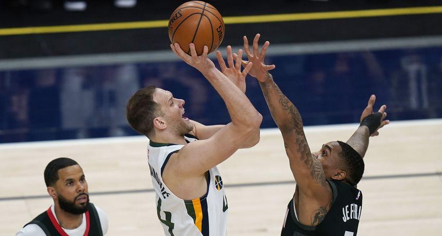 Warriorsi bolji od Jazzera, još jedna odlična partija Bogdanovića