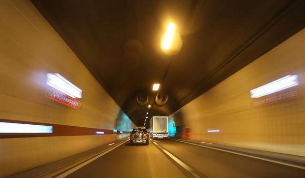 Reportaza s autoceste A1 Zagreb - Vrgorac. Tunel Sveti Rok